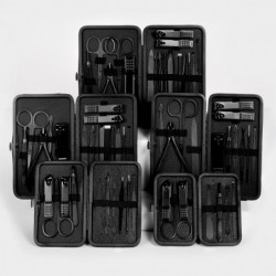 Professional manicure / pedicure set - nail clippers / scissors / tweezers