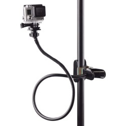 Klemklembevestiging - selfiestick - verstelbaar - flexibele verlenging - voor GoPro Hero 9/8/7/6/5/4/2/ DJI OSMO Xiaomi Yi