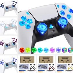 Luminated D-Pad Thumbstick - 7 kleuren - 9 standen - DTF - LED - voor PS5 Controller - set met gereedschap