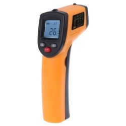 GM320 - laser infrared thermometer - digital LCD