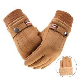 Wintersuède handschoenen - touchscreen-functie - winddicht - antislip - unisex