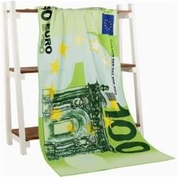 Groot bad- / strandlaken - 100 US / 100 - 500 EU - US / UK flag