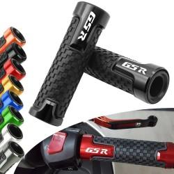Handvatten motorfiets - aluminium / rubber - 22 mm - voor Suzuki / universeel