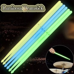 Luminous drum sticks - fluorescent - 5A - 2 pieces