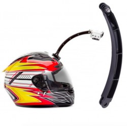 GoPro Hero - Sjcam - helmet extension arm kit - selfie photo - curved