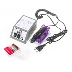 Professional electric nail drill manicure set