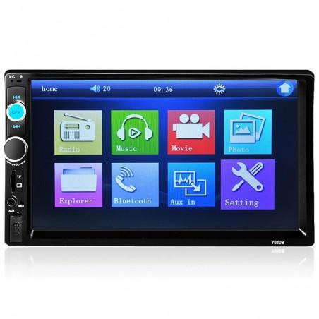 Bluetooth 7'' Inch Din 2 LCD touch screen autoradio MirrowLink