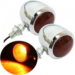 12V Motorcycle Turn Signal Indicator Light Lamp