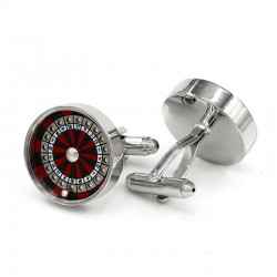 Roulette Wheel Men's Cufflinks