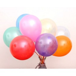 10 Inch 1.2G Latex Wedding Party Balloons 100pcs