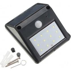 12 LED waterproof solar powered motion sensor light