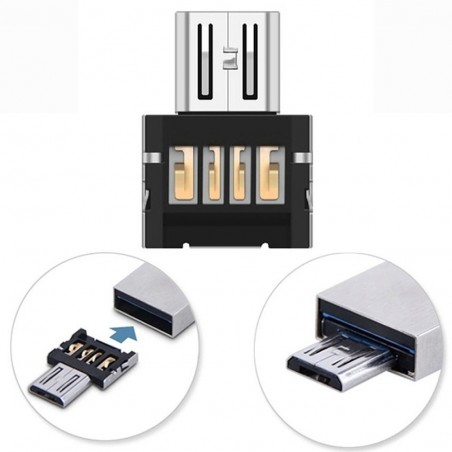 Mini USB 2.0 Micro USB OTG Converter Adapter