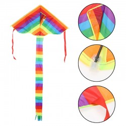 Children Rainbow Triangle Kite