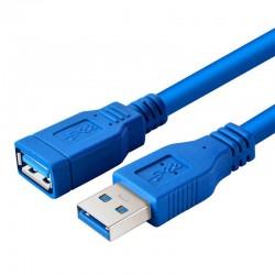 USB 3.0 Data Extension Cable Male To Female Data Sync |