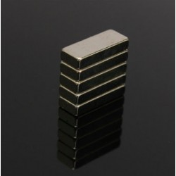 N52 Neodymium Magnet Rectangular Block 15 * 6 * 3mm 5 pcs |