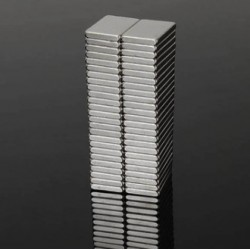 N48 Neodymium Magnet Strong Block 15 * 10 * 2mm 50pcs