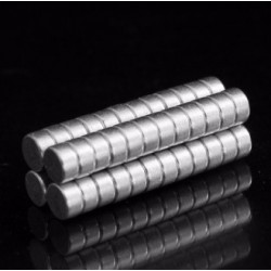 N50 Neodymium Magnet Strong Round Disc 4 * 2mm 50pcs