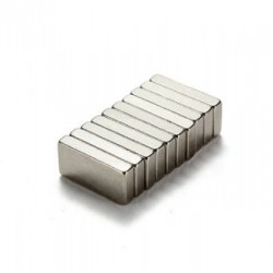N35 Neodymium rechthoekige magneet 10 * 5 * 2 mm 10 stuks