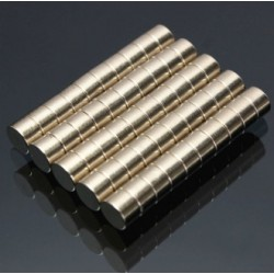 N50 Neodymium Magnet Strong Disc 6 * 4mm 50pcs
