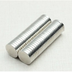 N52 Neodymium Magnet Strong Cylinder 12 * 2mm 250pcs