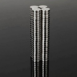 N48 Neodymium Magnet Strong Disc 7 * 2mm 100pcs