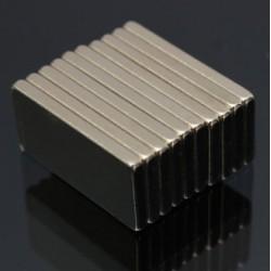 N52 Neodymium Magneet Blok 20 * 10 * 2mm 10 Stuk|