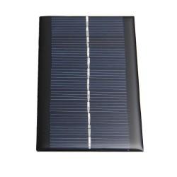 Mini zonnepaneel 1W 6V - batterij