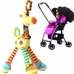 Zacht Giraf Dierspeeltje Baby Stoel Buggy Hanger |