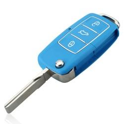 VW Jetta Beetle 3 Button Uncut Blade Remote Car Key Case Shell
