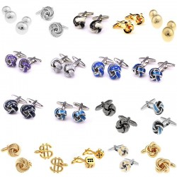 Fashion Knot Men's Cufflinks