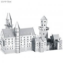 3D Neuschwanstein metal puzzle construction kit