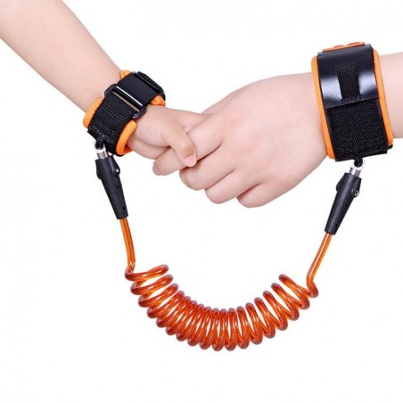 Toddler Kids Safety Anti Lost Wrist Link Cable Bracelet Kinderkord Walk Away Cord