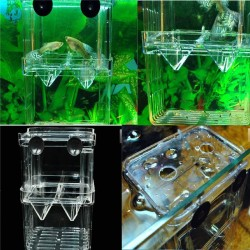 Fish Tank Aquarium Multifunctional Fish Breeding Isolation Box Incubator