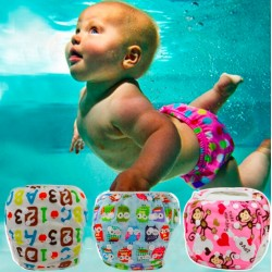 Unisex Baby's Waterproof Adjustable Swim Diaper Pool Pants