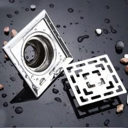 Vierkante Afvoerputje Roestvrijstalen Waterfilter 10cm