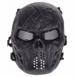 Outdoor Airsoft Paintball Protective Full Face Skull Mask