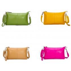 Genuine Leather Women's Clutch Small Shoulder Purse Bag