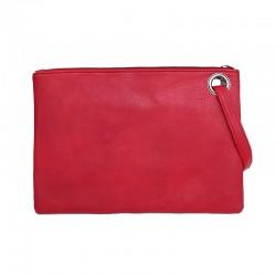 Leder Damen Umschlagtasche - Handtasche