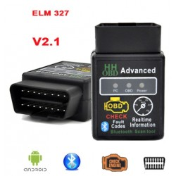 OBDII OBD2 Bluetooth Car Diagnostic V2.1 ELM327 ELM 327 Led