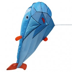 Giant fish wale kite