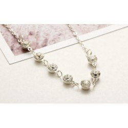 Silver Gold Fashion Crystal Anklet