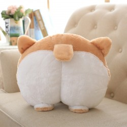 Cartoon Corgi Buttocks Car Seat Neck Pillow 20cm