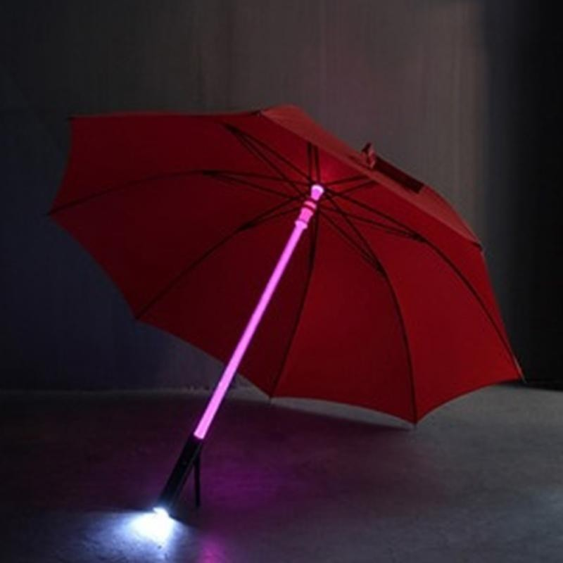 Flashing LED Rain Umbrella