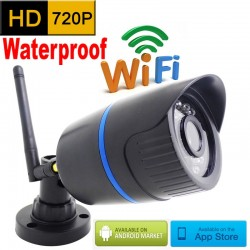 720P HD Wi-Fi Outdoor Waterproof Infrared CCTV Security Camera
