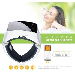 Wireless Remote Control Neck Massager