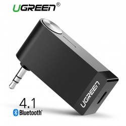 Ugreen Bluetooth Receiver Ontvanger 3.5mm Jack Audio Adapter Microfoon