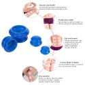 Anti Cellulite Vacuum Silicone Cups Body Massager Chinese Bubble 4pcs