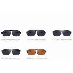 Men's Classic Aluminum Polarized Sunglasses