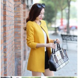 Women's Fashion Coat Loose Slim Thin Cardigan