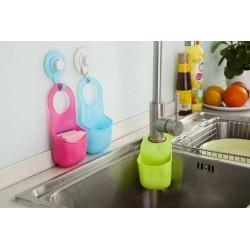 Keuken Badkamer Vouwbaar Silicone Hangende Opberghouder |
